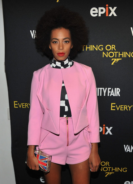 "Solange Knowles - EPIX And VANITY FAIR Present The Premiere Of ""Everything Or Nothing: The Untold Story Of 007"" - Screening"