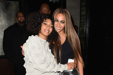 Solange Knowles Balmain And Olivier Rousteing Celebrate After The Met Gala - Inside