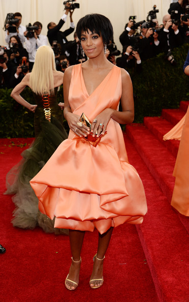 Solange - Red Carpet Arrivals at the Met Gala — Part 3