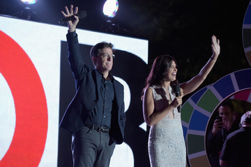Soledad O'Brien 2015 Global Citizen Festival in Central Park to End Extreme Poverty By 2030 - Show