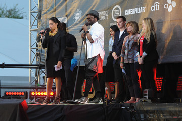 Soledad O'Brien Global Citizen 2015 Earth Day On National Mall To End Extreme Poverty And Solve Climate Change - Show