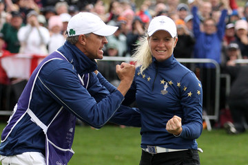 Dave Brooker Solheim Cup - Day Three
