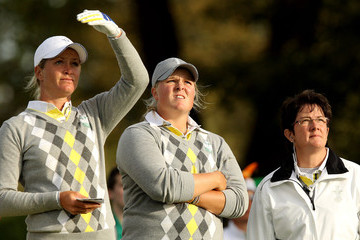 Alison Nicholas Solheim Cup - Day Two