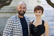 Spanish actress Aura Garrido and actor Alain Hernandez attend 'Solo' photocall on July 24, 2018 in Madrid, Spain.