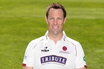 Marcus Trescothick Somerset CCC Photocall