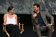 Actors Paola Nunez and Henry Garrett attend AMC's 'The Son' FYC Screening & Panel Discussion on April 15, 2017 in Los Angeles, California.
