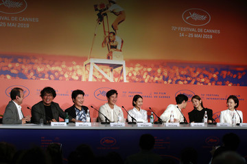 Song-Kang-Ho 'Parasite' Press Conference - The 72nd Annual Cannes Film Festival