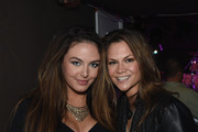 """Victoria Hill and Bridgette Tatum backstage at """"Songwriters 4 Songwriters - Ladies' Night"""" A fundraiser to benefit The Pen Fund at 3rd and Lindsley on November 10, 2015 in Nashville, Tennessee."""
