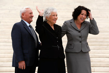 Omar Lopez Sonia Sotomayor Attends Formal Investiture Ceremony At U.S. Supreme Court