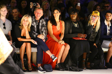 Sonja Morgan Mark And Estel - Front Row - Mercedes-Benz Fashion Week Spring 2015