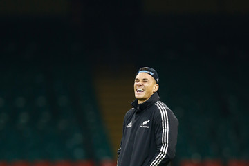 Sonny Bill Williams New Zealand All Blacks Visit Millennium Stadium