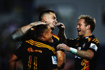 Sonny Bill Williams Super Rugby Rd 11 - Chiefs v Force