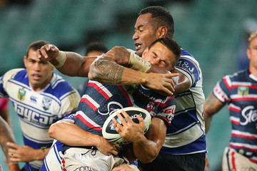 Sonny Bill Williams Roosters v Bulldogs