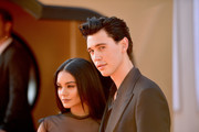 """Vanessa Hudgens and Austin Butler attend Sony Pictures' """"Once Upon A Time...In Hollywood"""" Los Angeles Premiere on July 22, 2019 in Hollywood, California."""