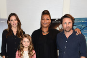 Actors Jennifer Garnerand Queen Latifah attend Sony Pictures' 'Miracles from Heaven' Photo Call at The London Hotel on March 4, 2016 in West Hollywood, California.