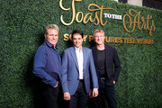 (L-R) Martin Kove, Ralph Macchio and William Zabka attend Sony Pictures Television's Emmy FYC Event 2019 'Toast to the Arts' on May 04, 2019 in Los Angeles, California.