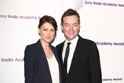 Emma Willis and Stephen Mulhern attend the Sony Radio Academy Awards at The Grosvenor House Hotel on May 13, 2013 in London, England.