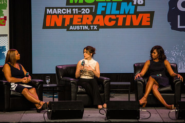 Sophia Bush First Lady Michelle Obama Gives Keynote Address at SXSW in Austin, Texas