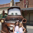 Rosie Grace McClelland Sophia Grace & Rosie Tape A Segment With Mater At Disney's California Adventure