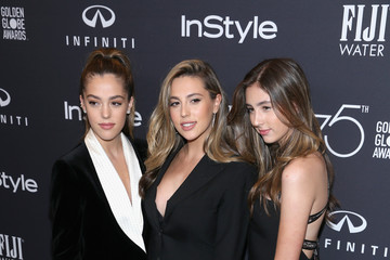 Sophia Rose Stallone FIJI Water at the Hollywood Foreign Press Association and InStyle's Celebration of the 2018 Golden Globe Awards Season