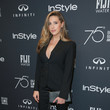 Sophia Rose Stallone Hollywood Foreign Press Association and InStyle Celebrate the 75th Anniversary of the Golden Globe Awards - Arrivals