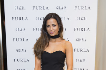 Sophia Smith Furla X Grazia Celebrate Flagship Brompton Road Store