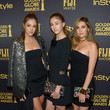 Sophia Stallone Hollywood Foreign Press Association And InStyle Celebrate The 2017 Golden Globe Award Season
