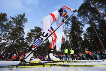 Sophie Caldwell Cross Country: Men's & Women's Team Sprint - FIS Nordic World Ski Championships