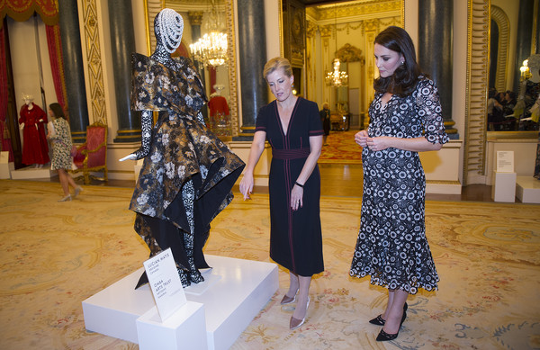 The Commonwealth Fashion Exchange Reception At Buckingham Palace