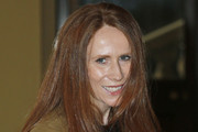 British actress Catherine Tate who has starred in BBC One British television series 'Doctor Who', poses for photographers as she arrives for a reception to mark the 50th anniversary of the hit TV series at Buckingham Palace on November 18, 2013 in London, England. Sophie, Countess of Wessex hosted a reception to mark the 50th anniversary of the TV series in which there have been 11 Doctors to date. It now holds the Guinness World Record for the longest running science fiction series in the world.