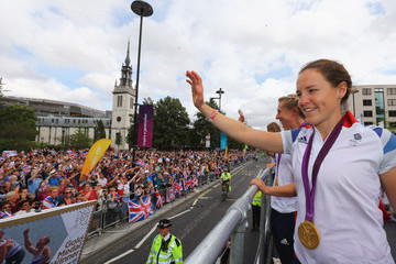 Sophie Hosking Olympics & Paralympics Team GB - London 2012 Victory Parade