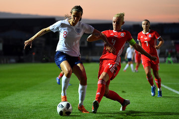 Sophie Ingle Wales vs. England - FIFA Women's World Cup Qualifier