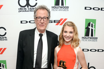 Sophie Nelisse Press Room at the Annual Hollywood Film Awards