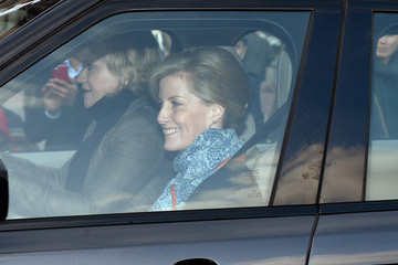 Sophie Rhys-Jones Annual Buckingham Palace Christmas Lunch Hosted By The Queen