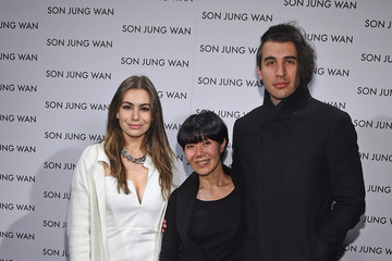 Sophie Simmons Son Jung Wan - Backstage - Mercedes-Benz Fashion Week Fall 2015