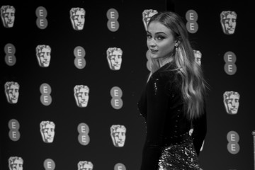 Sophie Turner EE British Academy Film Awards - Red Carpet Arrivals