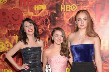 Sophie Turner Maisie Williams HBO's Official 2015 Emmy After Party - Arrivals