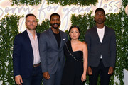 "(L-R) Zack Robidas, Jovan Adepo, Kelly Marie Tran, and Mamoudou Athie attend the ""Sorry For Your Loss"" season 2 premiere event at NeueHouse Los Angeles on October 01, 2019 in Hollywood, California."