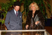 Matteo Marzotto and Maria Franca Norsa attend the Sotheby's charity auction for FFC Onlus on January 23, 2013 in Milan, Italy.