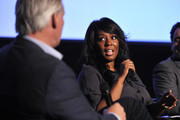 """Denise Jackson speaks onstage during SoulPancake's """"Four Conversations about One Thing"""" at Hammer Museum on May 29, 2019 in Los Angeles, California."""