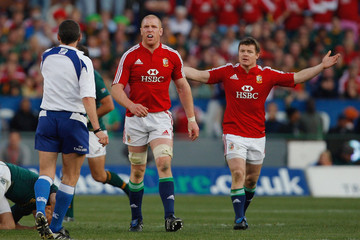 Brian O'Driscoll Paul O'Connell South Africa v British & Irish Lions - 2nd Test