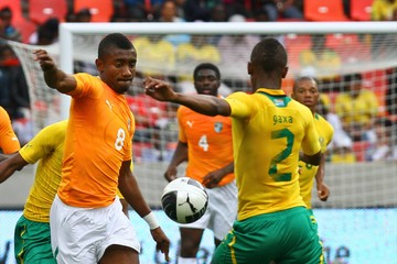 Siboniso Gaxa South Africa v Ivory Coast