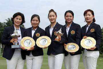 South Korea Queen Sirikit Cup of Golf: Day 3