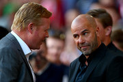 Ronald Koeman Peter Bosz Photos Photo