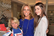 Actress Lauren Potter, actress Cheryl Hines and Kyra Kennedy attend A Day of Beauty for Their Best Buddies at Blushington Make-Up and Beauty Lounge on March 12, 2013 in West Hollywood, California.