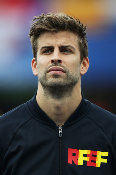 Gerard Pique Spain Czech Republic Group Uefa