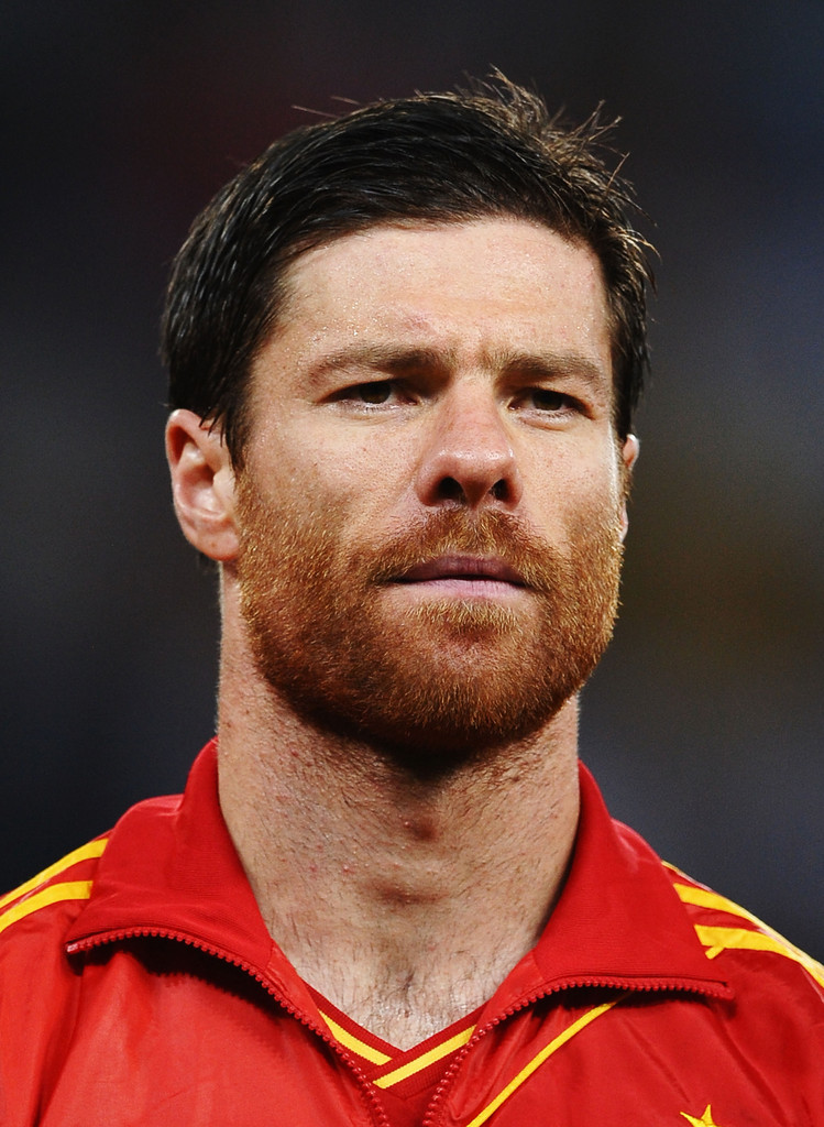 xabi alonso photos photos spain v france uefa euro