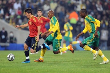 Benson Mhlongo Spain v South Africa - FIFA Confederations Cup