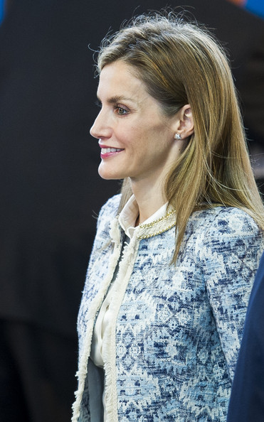 King Queen Letizia of Spain attend the Opening of the School Courses on September 16, 2014 in Orense, Spain.