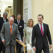 King Juan Carlos I and King Felipe VI of Spain Photos
